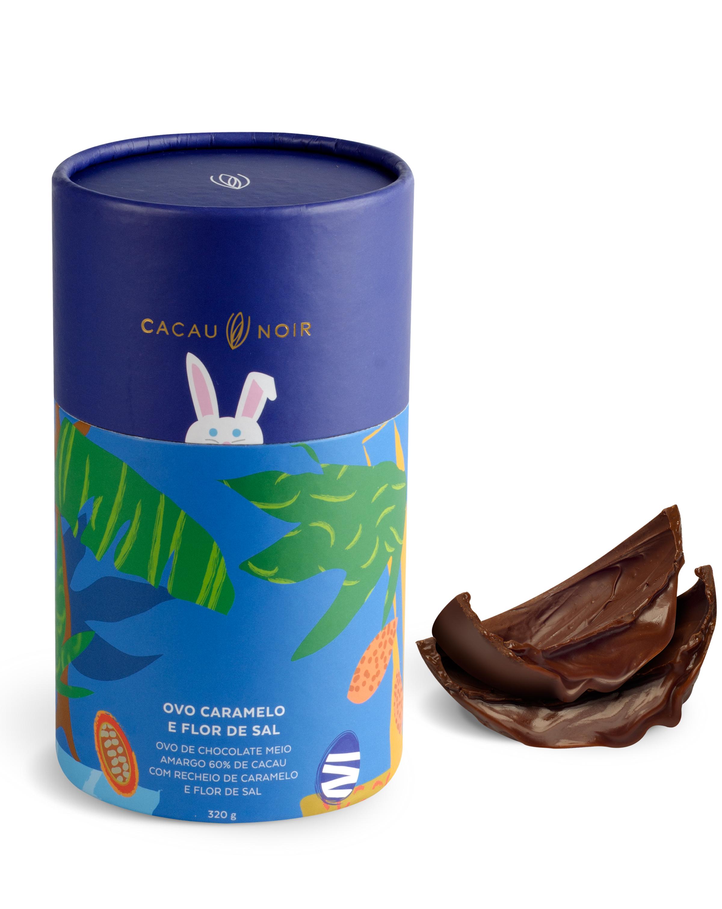 Cacau Noir: ovo de caramelo e flor de sal