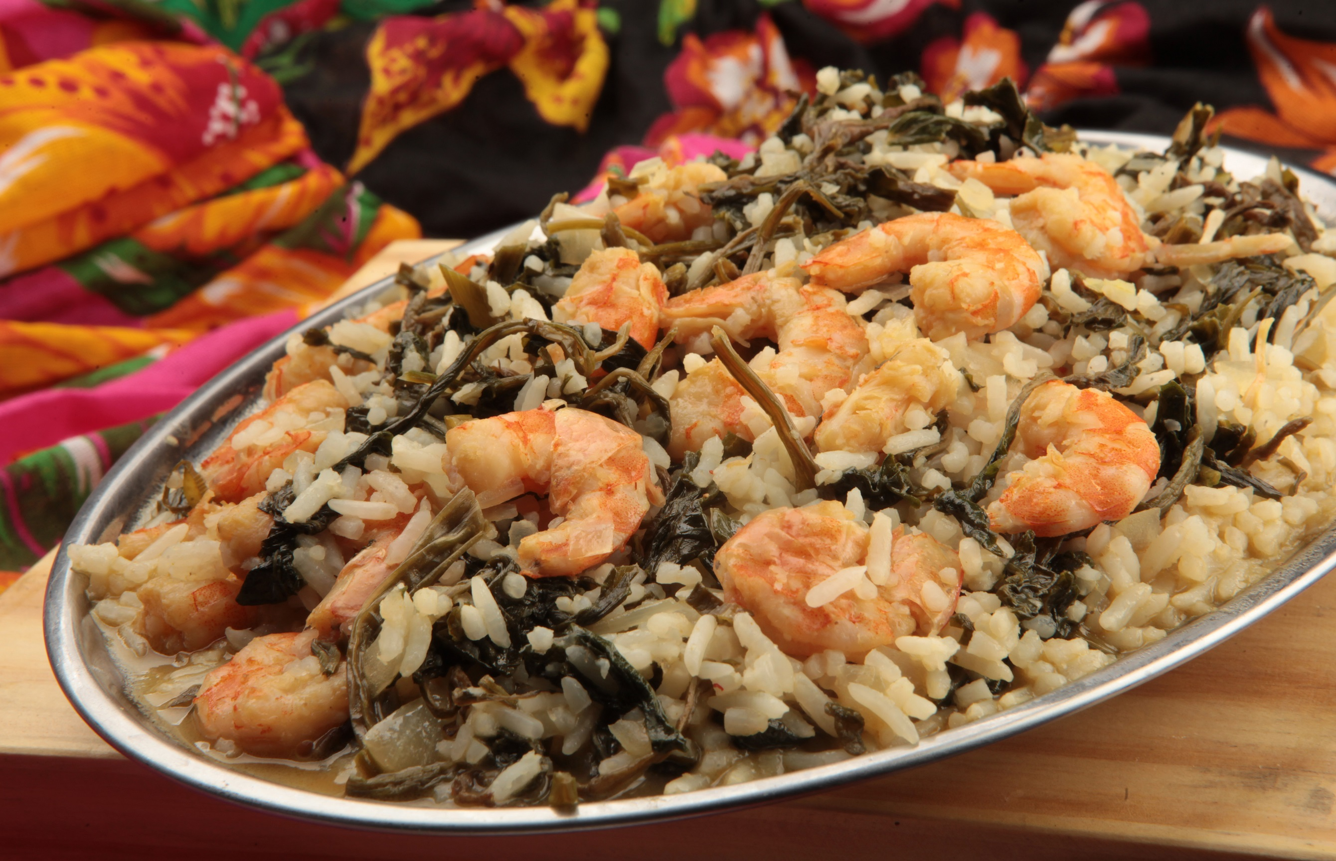 Pescados na Brasa: arroz paraense