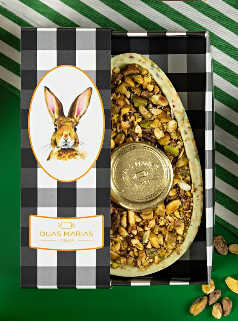 Duas Marias Atelier: ovo de pistache