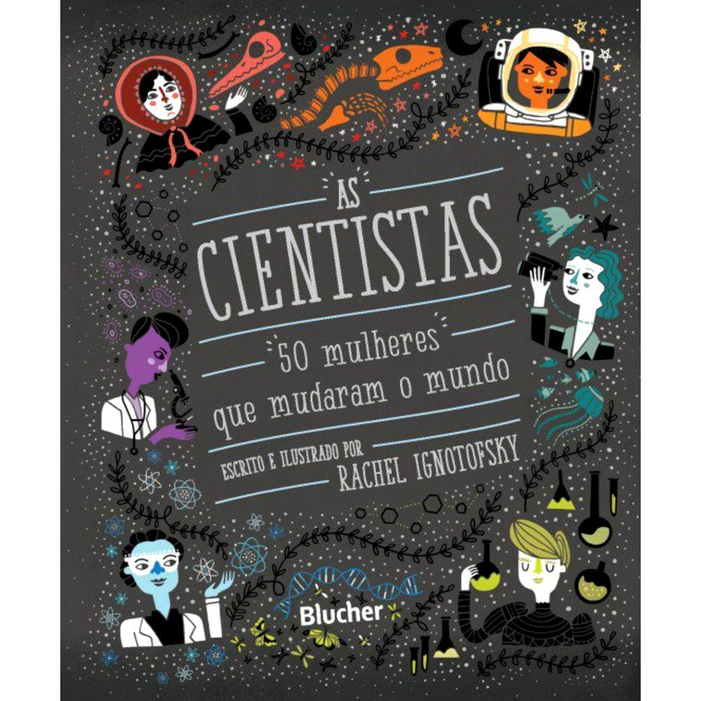 Capa do livro As cientistas