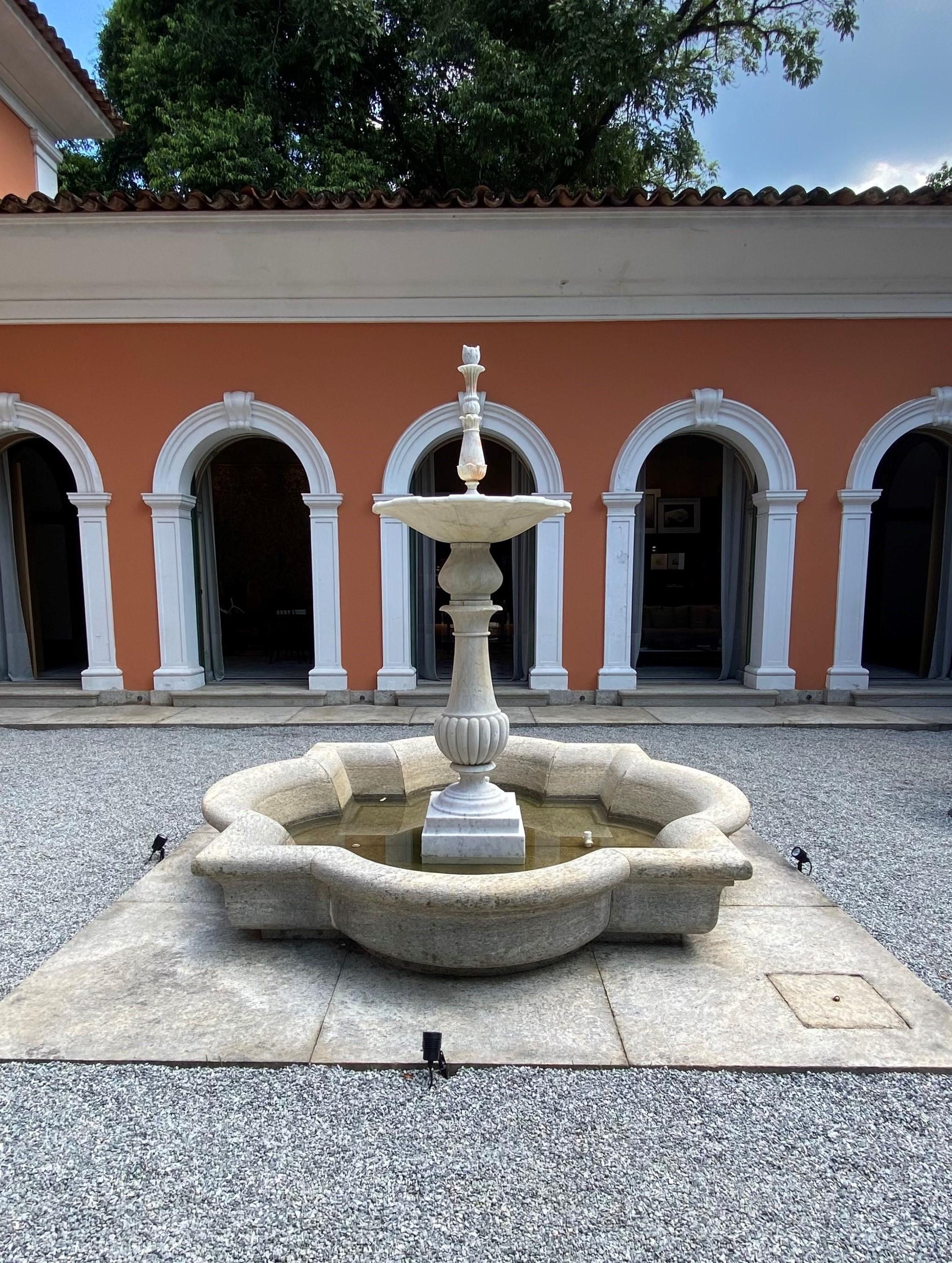 Imagem mostra o Palacete Brando Barbosa