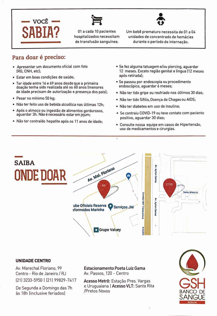 Doação de sangue para Paulo Gustavo: parentes enviam imagem com informações sobre o banco de sangue para que amigos próximos ajudem o ator