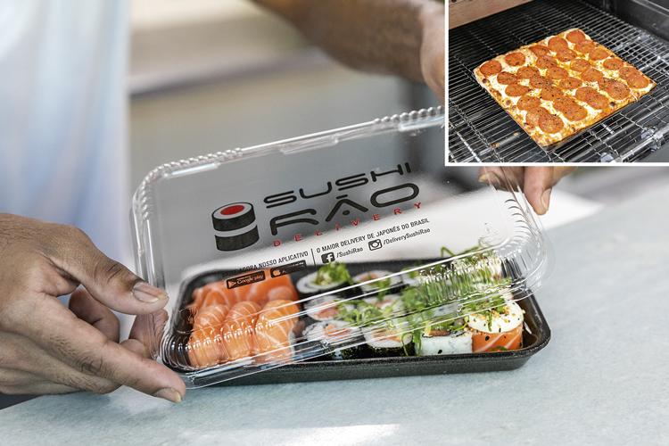 Especialidades da casa: os sushis foram a primeira aposta do grupo, que a seguir entrou no concorrido mercado das pizzas -