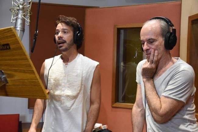 Almério e Ney Matogrosso gravaram juntos a canção