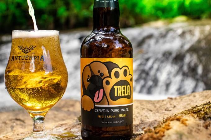 Cerveja Antuérpia_Cerveja artesanal Trela_Foto divulgação