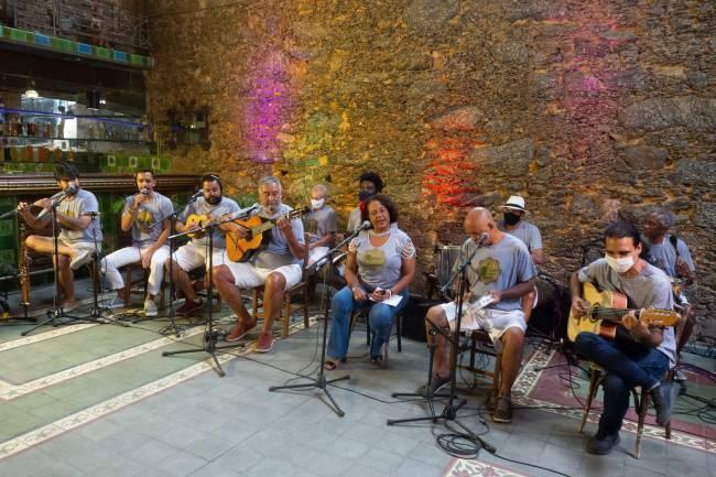 Na terça, a Roda de Samba Gloriosa fecha o projeto nos cloretos e praças (virtuais) do Rio de Janeiro.