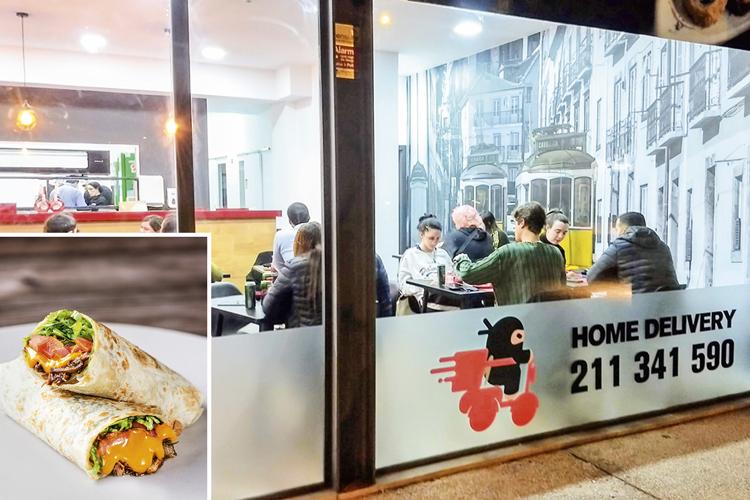 Em expansão: filial portuguesa e um dos mais recentes negócios da rede, que agora entrega comida mexicana -