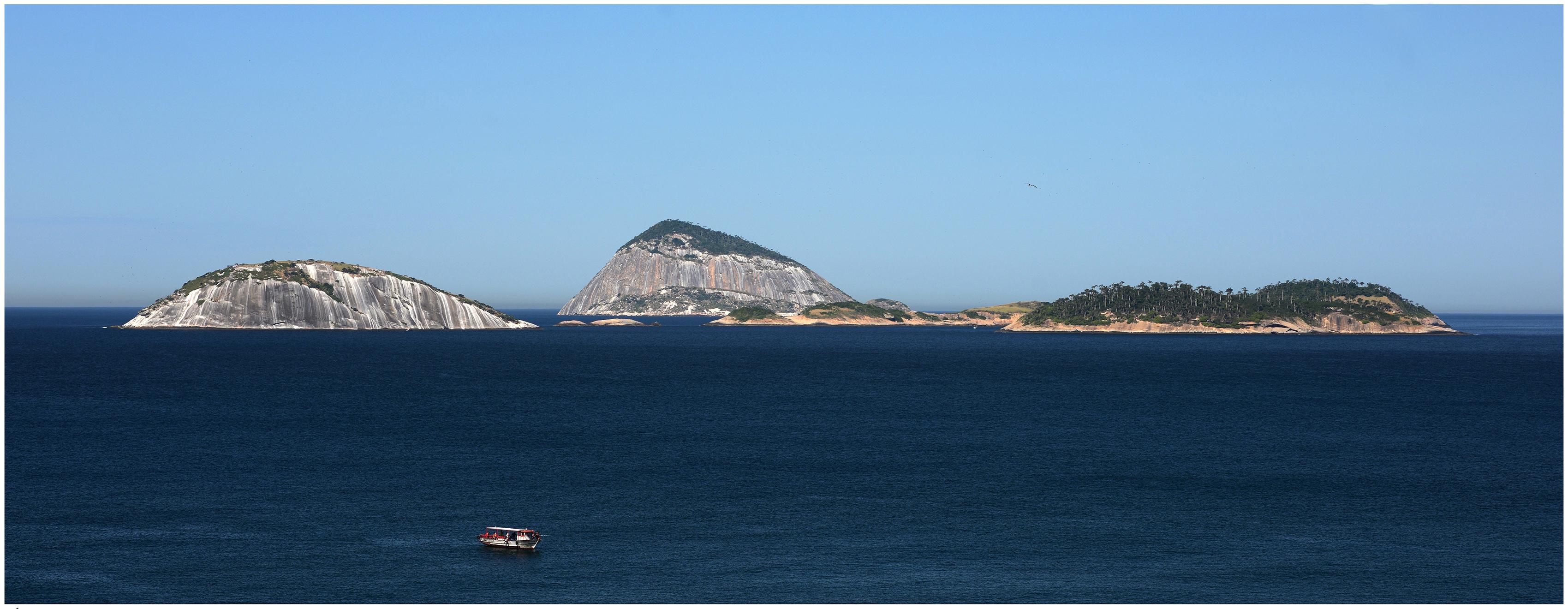 O belo Arquipélago das Cagarras