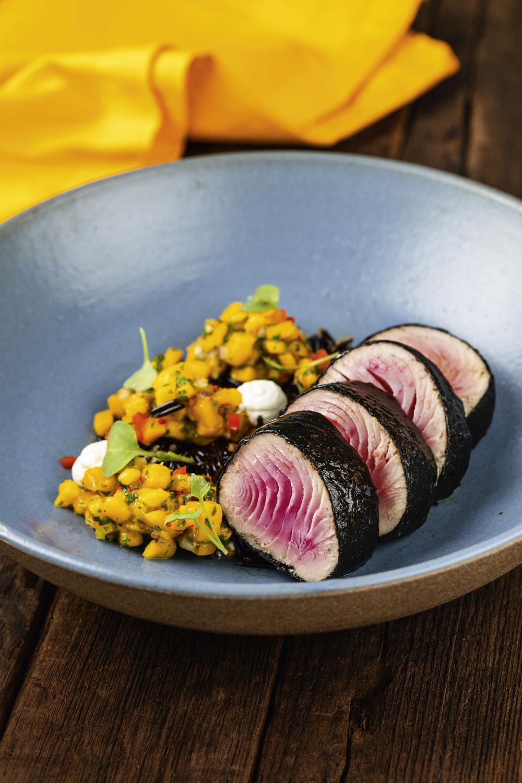 Allma: pratos em sintonia com a dieta flexitariana -