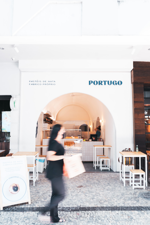 Portugo: fachada em Ipanema