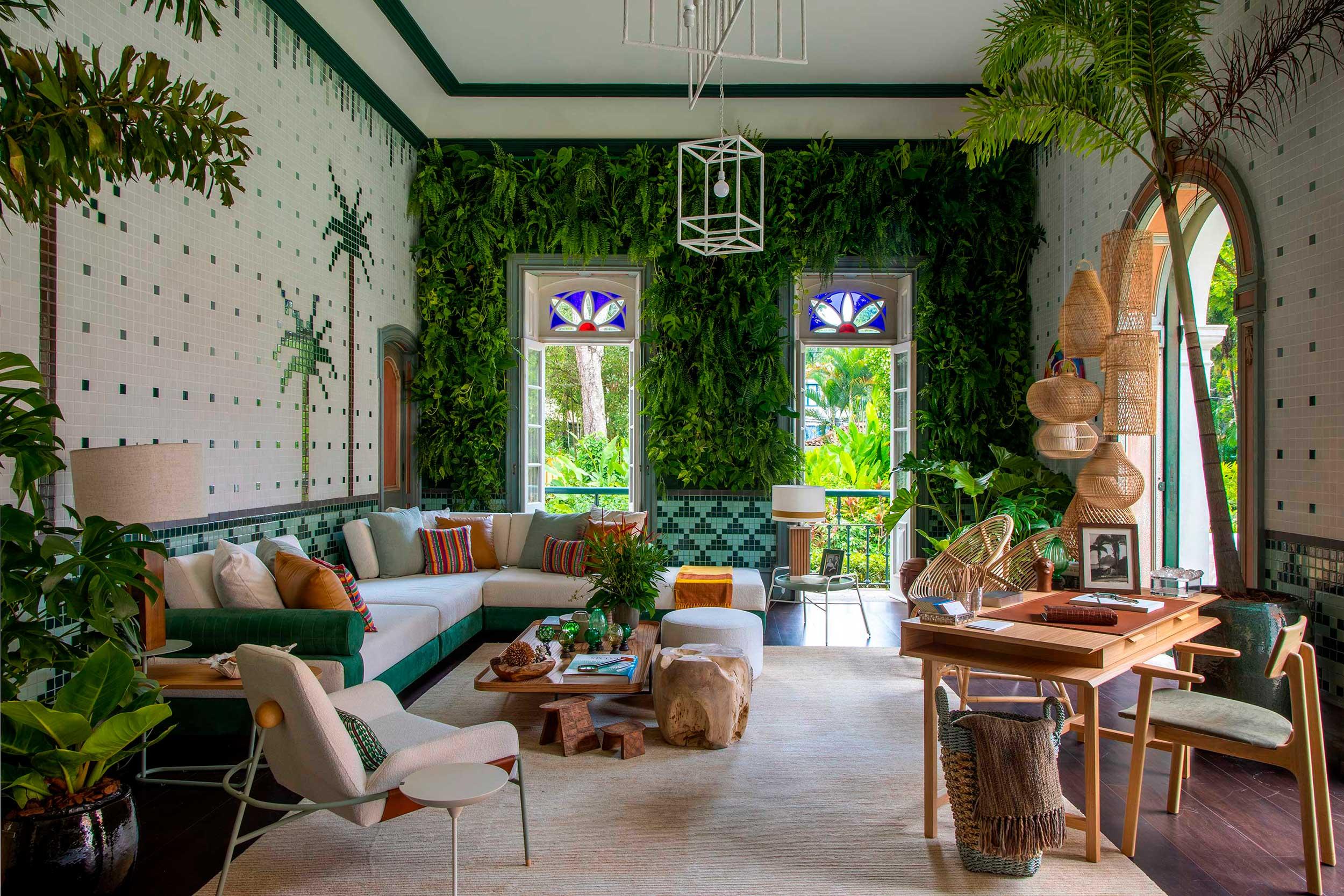Jardim de inverno: projeto de Jean de Just para a CASACOR Rio de Janeiro 2021.