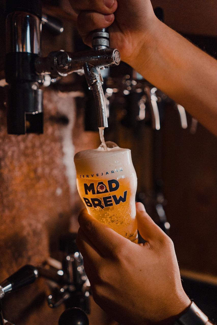 Mad Brew: chope direto da torneira