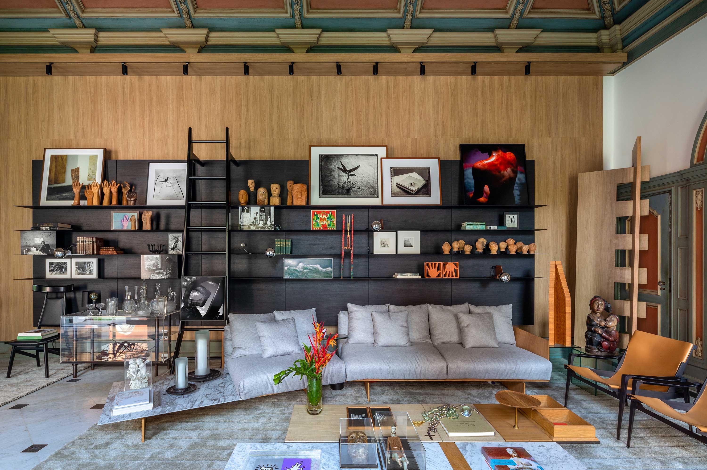 """Sala de Arte """"Contemplação"""" - Mario Costa Santos. Ambiente da CASACOR Rio 2021."""