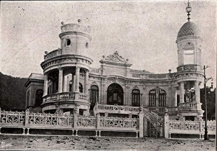O Palacete Ciceotama, construído em 1912, serviu de residência para o Dr. Cícero Penna, que doou o imóvel em testamento à Prefeitura