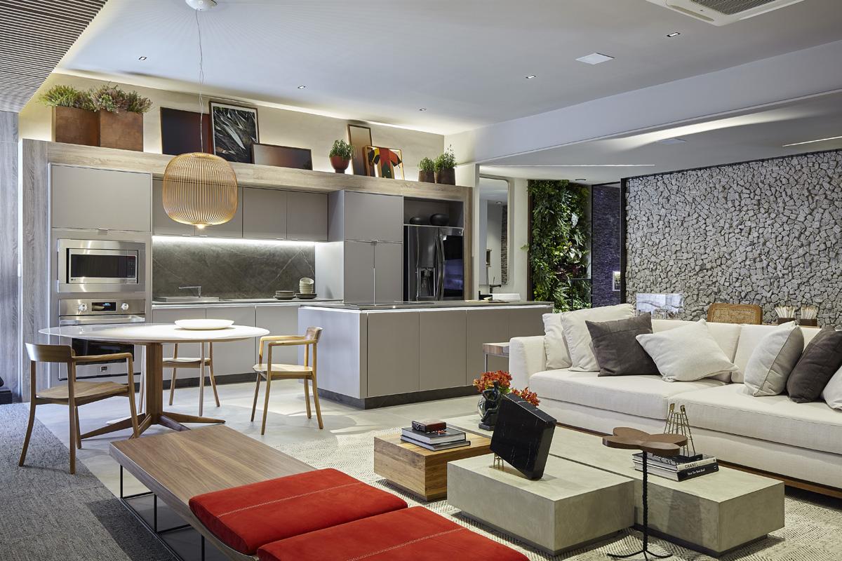 Casa DellAnno, por Cybele Barbosa + Arquitetos Associados - CASACOR Brasília 2019.
