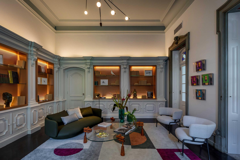 Biblioteca - Andréa Chicharo Arquitetura. Projeto da CASACOR RIo 2021.