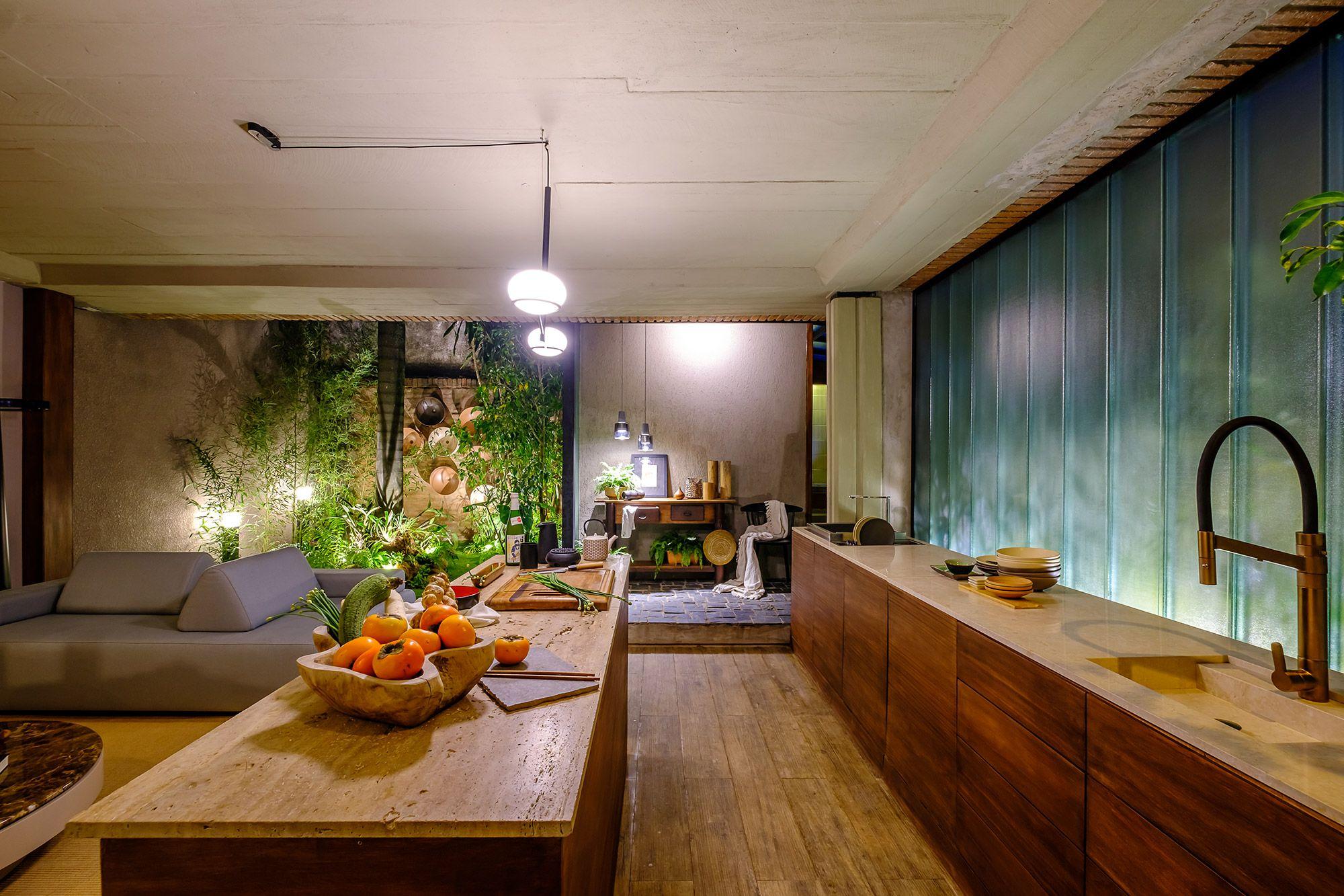 Casa Komorebí - Tassiana Oshiro. Projeto da CASACOR Bolívia 2021.