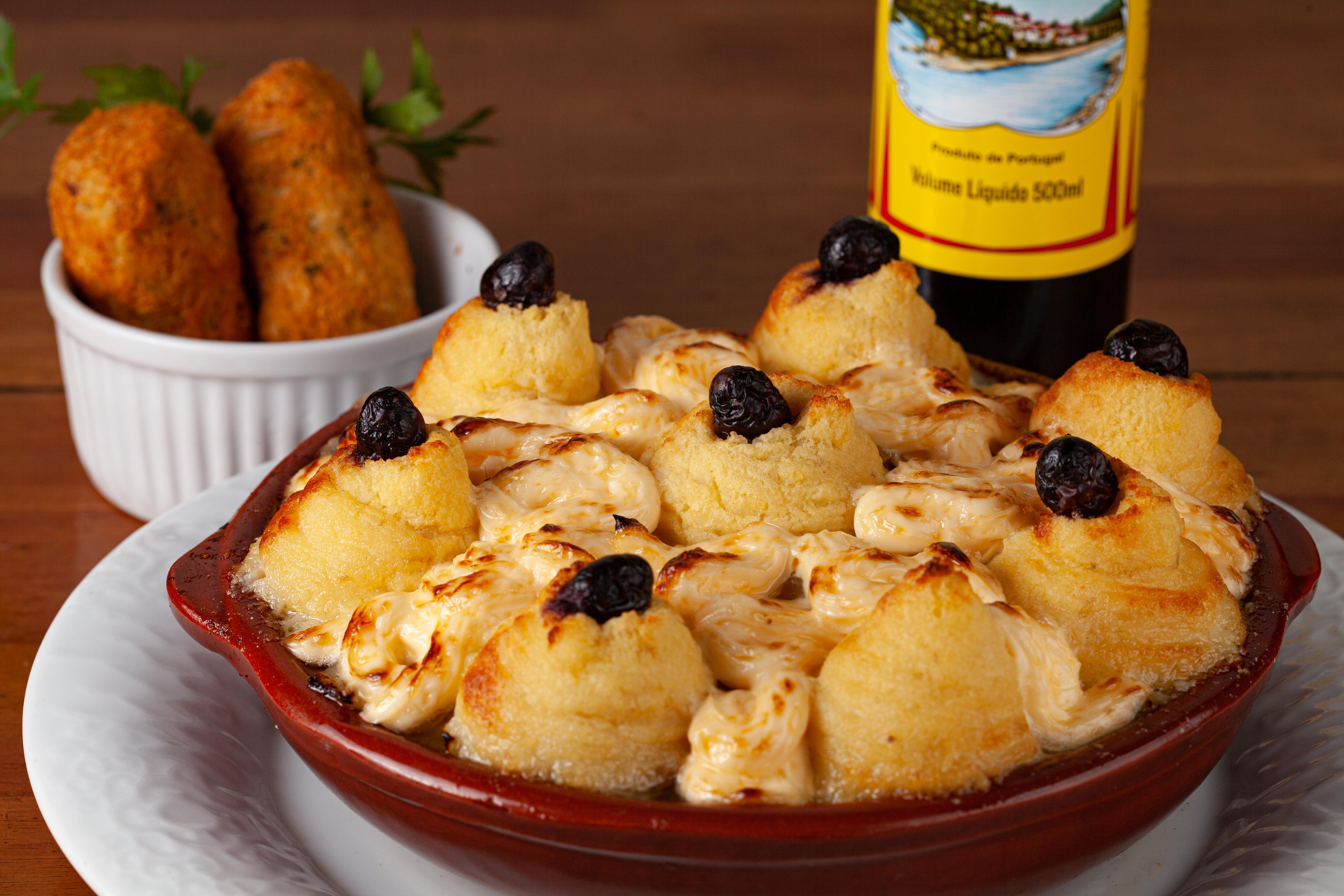 Gruta do Bacalhau: preparo à zé do pipo