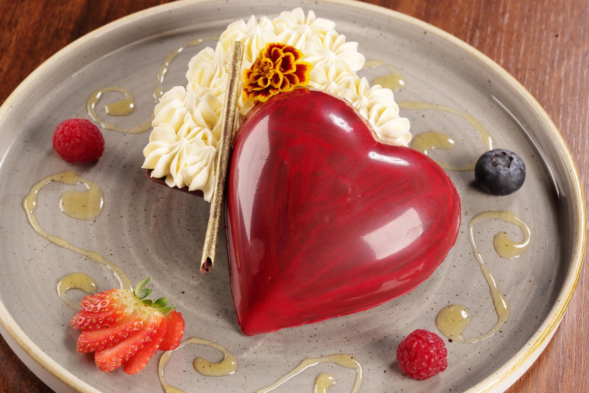 Julieta: coração de chocolate