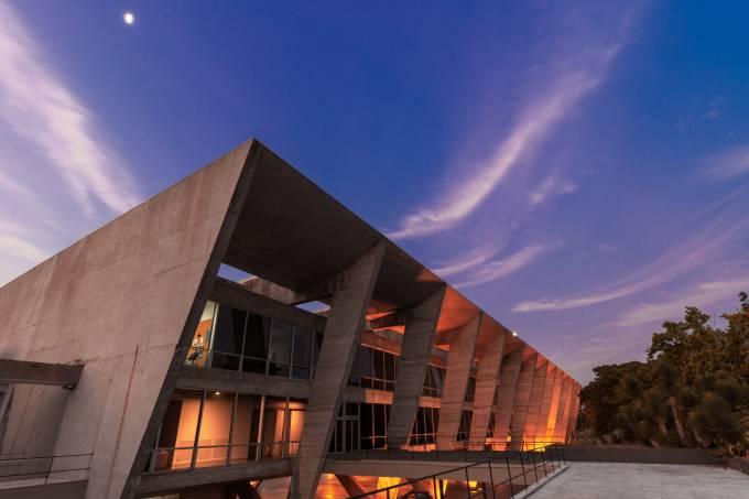 MAM Rio [Arquitetura] Fachada da laje do Bloco Escola – foto Fabio Souza