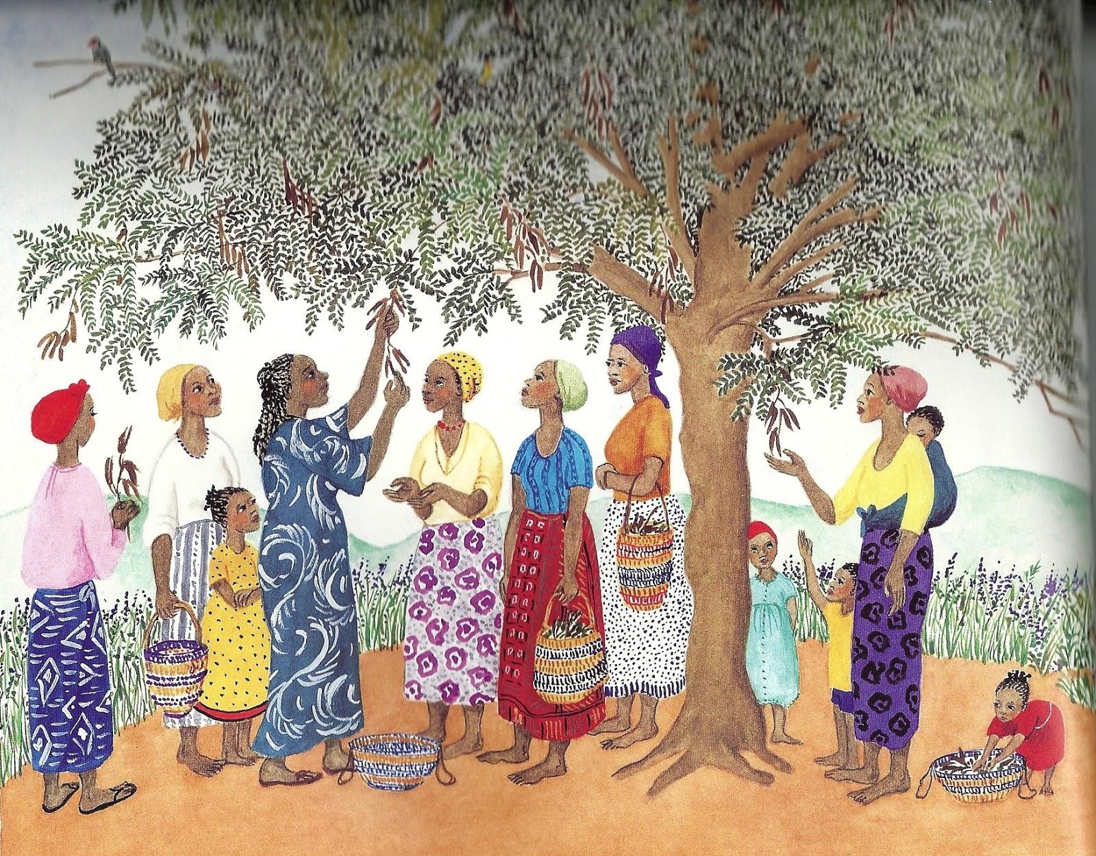 Plantando as árvores do Quênia