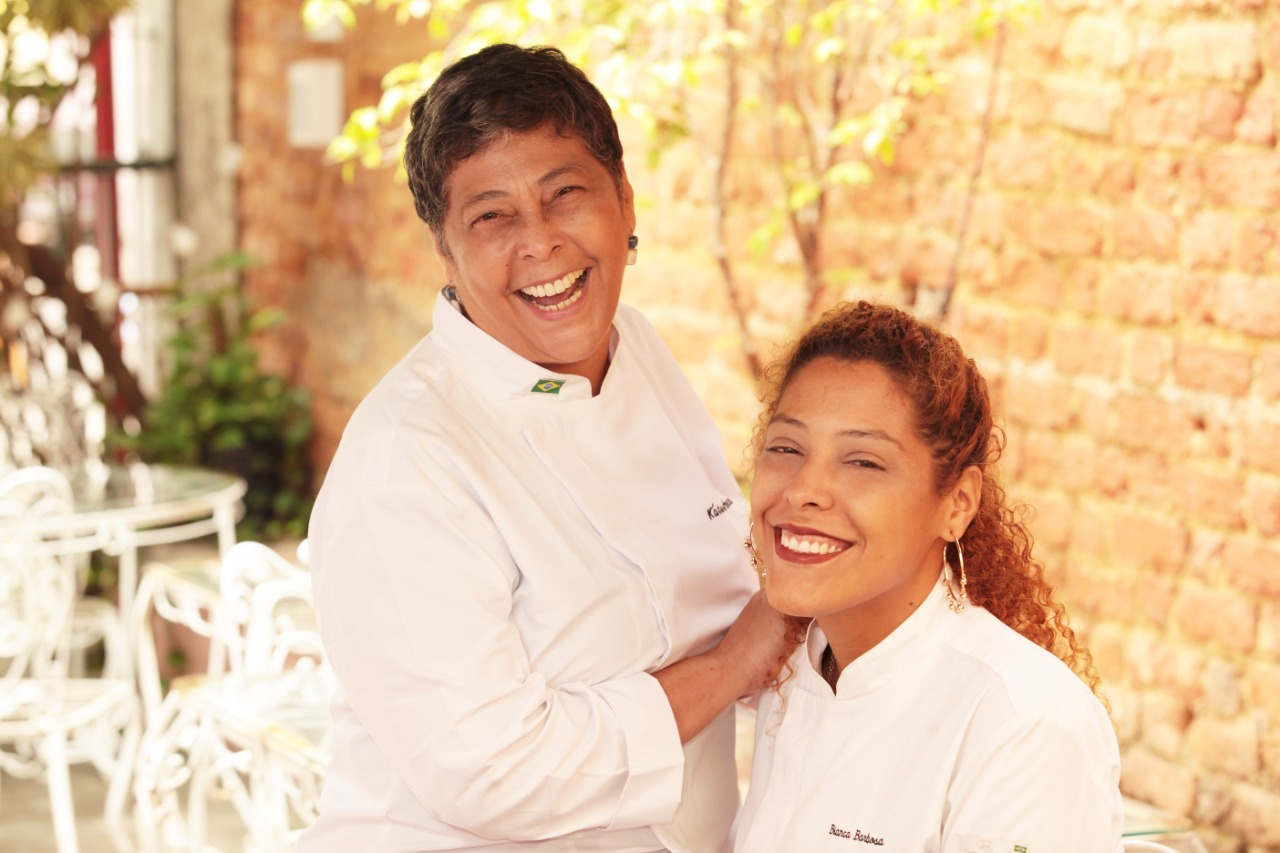Katita e Bianca: mãe e filha assinam o menu