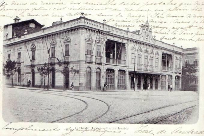 lirico-postcard