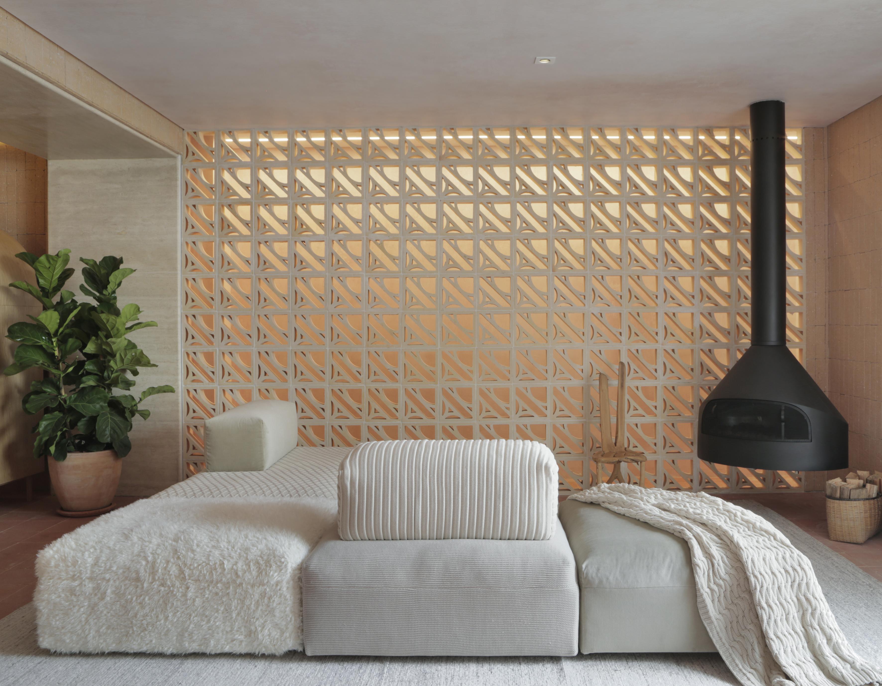 6 projetos de CASACOR em que o cobogó foi protagonista na decoração