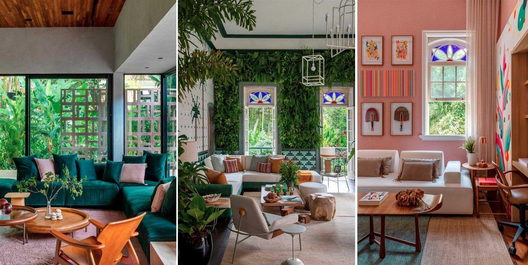 Ambientes onde o sofá é o destaque na CASACOR Rio 2021.