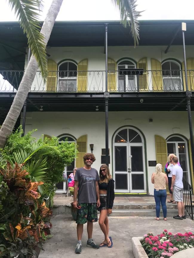 Dicas da Flórida: não deixe de conhecer o Museu de Ernest Hemingway, em Key West.