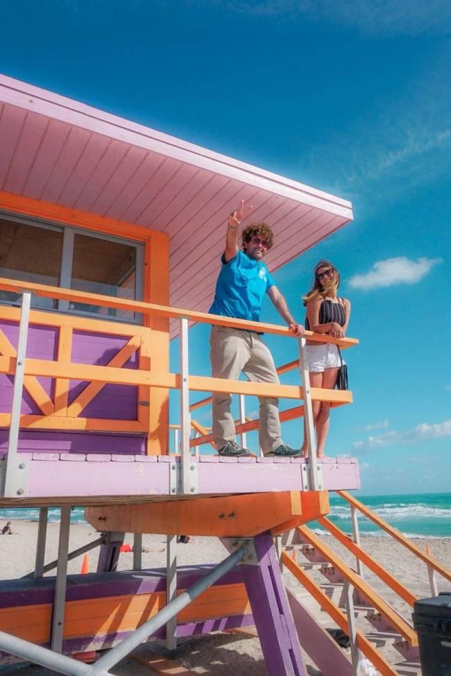 O clássico de Miami: praia linda, bons restaurantes e muita cultura.