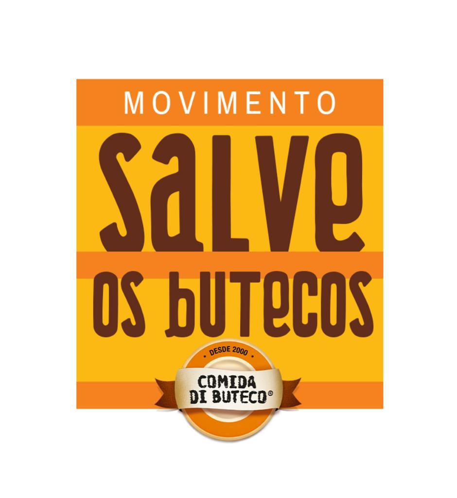 O logotipo da campanha Salve os Botecos: objetivo é arrecadar R$ 3 milhões