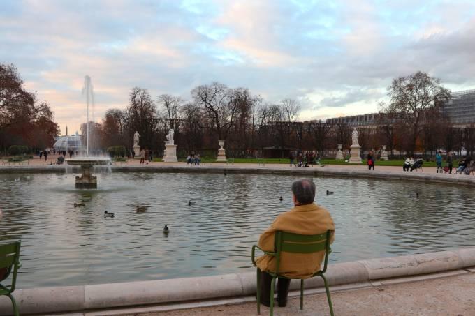 senhor em Paris