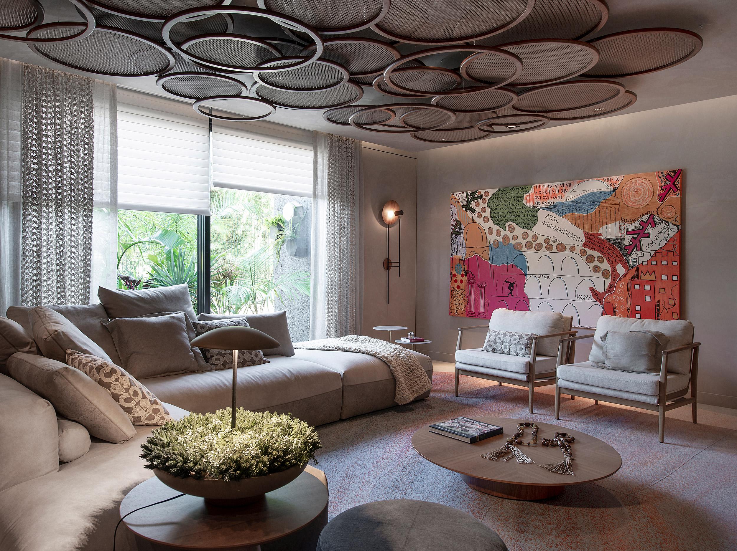 Sala Íntima da Arquiteta - Anna Maya