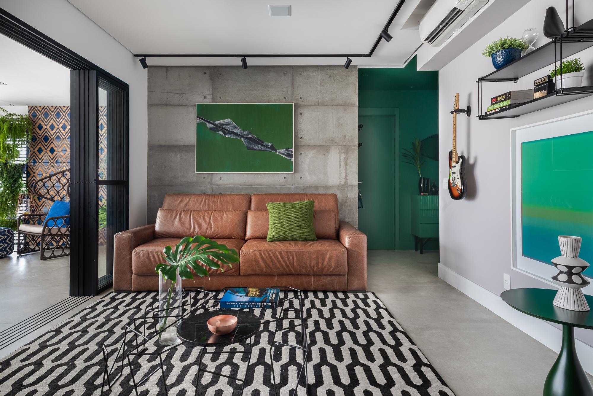 Apartamento em Pinheiros por Beatriz Quinelato.