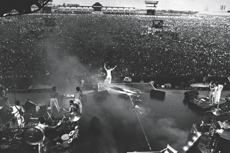 Momento histórico em 1985: o show de abertura do primeiro Rock in Rio -