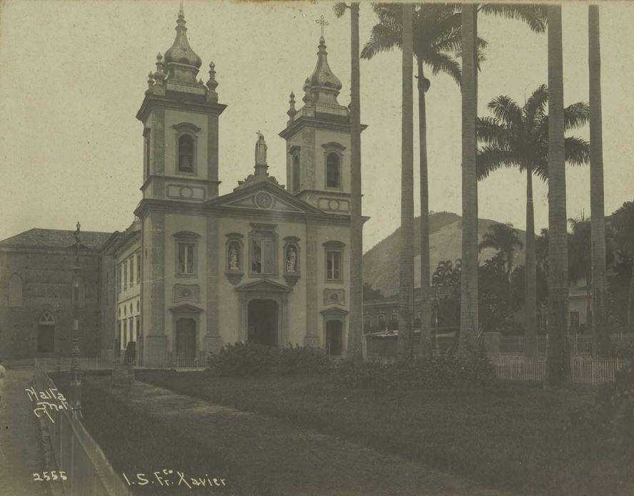 Foto da Igreja de São Francisco Xavier na Tijuca