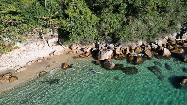 Praias dos Meros, na Ilha Grande