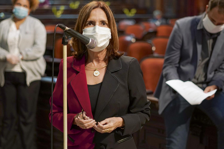 Sob investigação: a deputada Martha Rocha está à frente da CPI que investiga casos de intolerância -