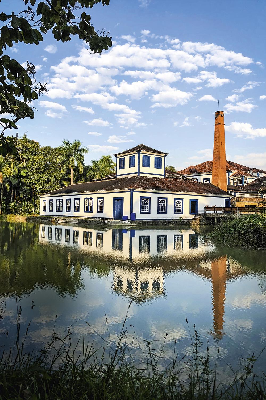 A destilaria do gim Amázzoni, em Barra Mansa: aberta aos turistas -
