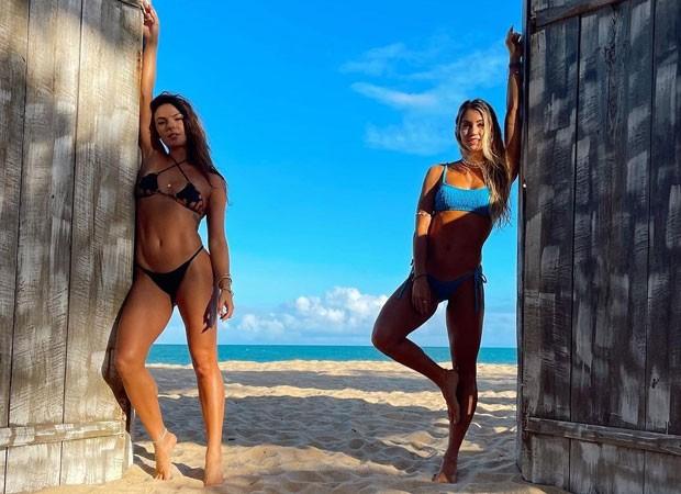 Gabriela Bahia e Isis Valverde (Reprodução-Instagram)