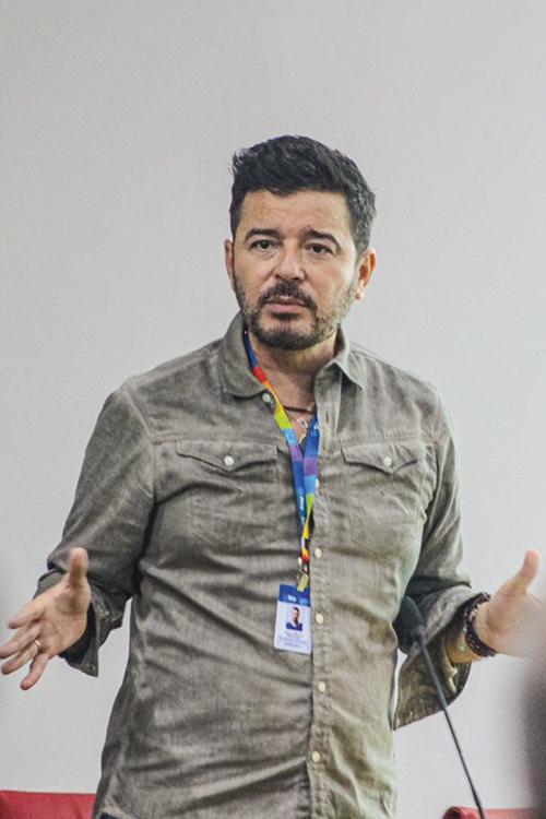 Carlos Tufvesson, à frente da Coordenadoria da Diversidade Sexual da prefeitura: parceria para estimular o empreendedorismo trans -