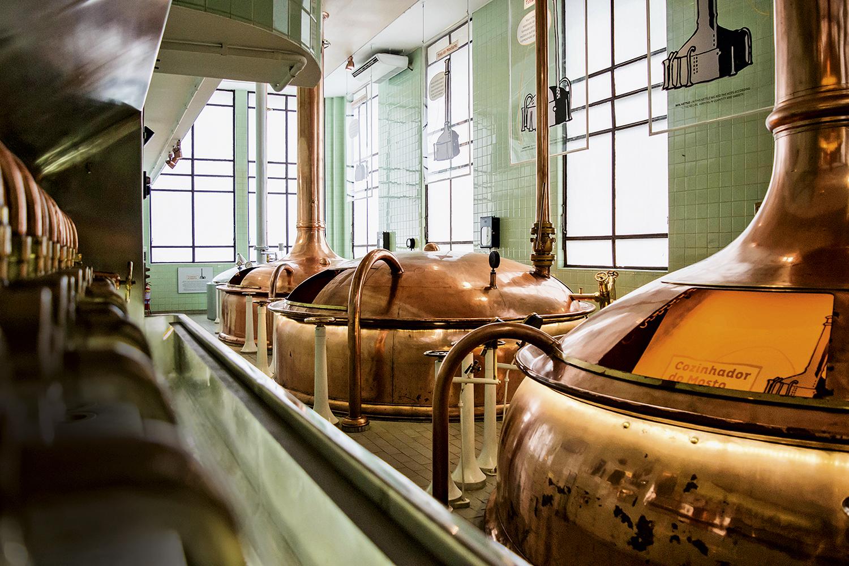 O centro de produção da Bohemia: visita guiada e degustação -