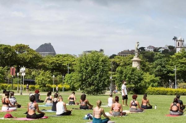Yoga na Gloria – Reprodução Instagram