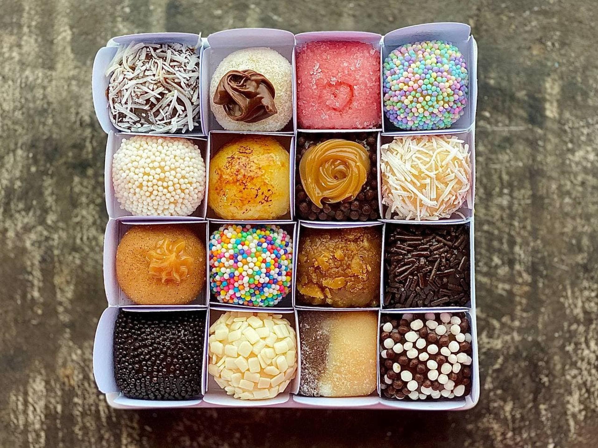 Cake & Co: são dezoito tipos do enrolado