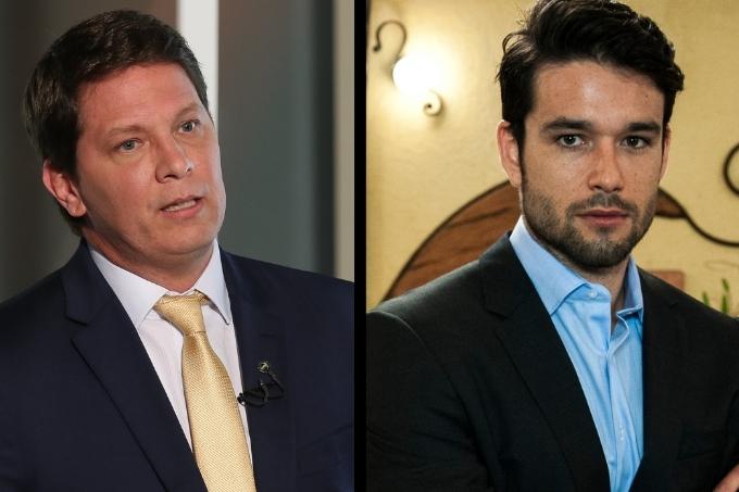 Mário Frias e Sergio Marone