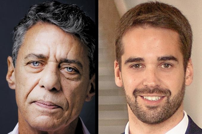Chico Buarque e Eduardo Leite