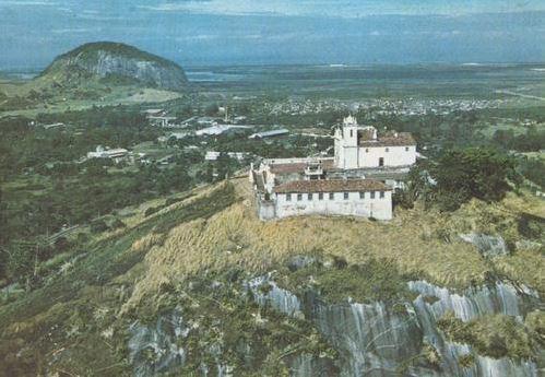 Foto de 1968 da Igreja de Nossa Senhora da Penna em Jacarepaguá