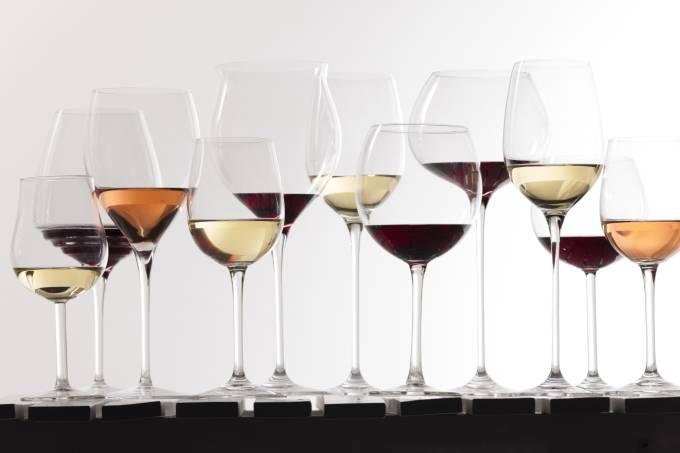 Taças de vinho