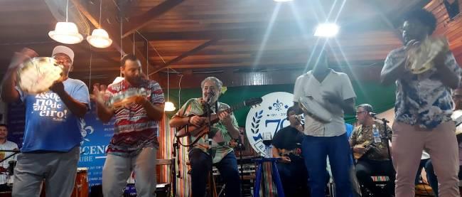 O Samba do Trabalhador é realizado há 16 anos no Clube Renascença, e está funcionando desde junho com as medidas de segurança.